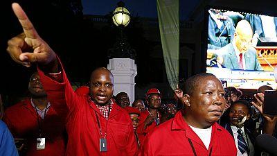 Afrique du Sud : Jacob Zuma perturbé au parlement