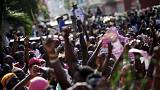 Demonstrationen in Haiti