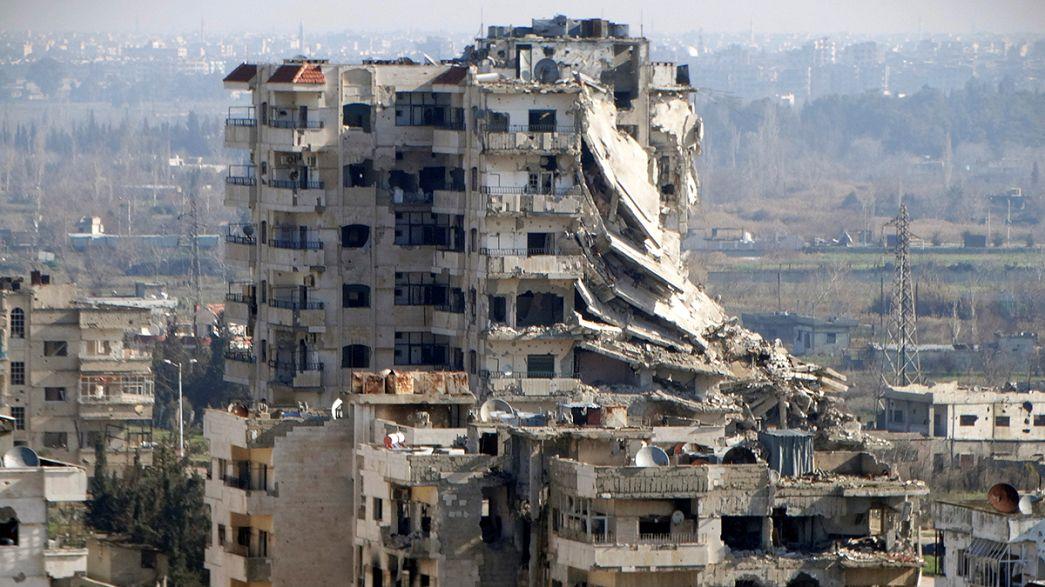 """Síria: Uma viagem de imprensa à """"pax russa"""" em Kaukab"""