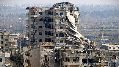 Euronews visits frontline village in Syria