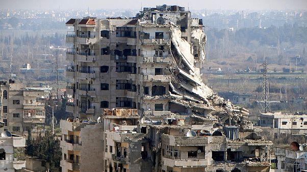 Suriyeliler Kokab'daki evlerine dönmeye başladı