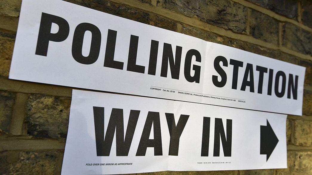 Jornada electoral a lo largo y ancho de Gran Bretaña