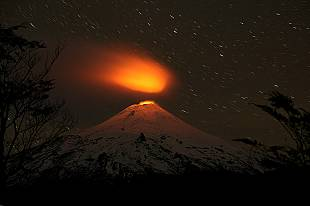 A view of a volcano!