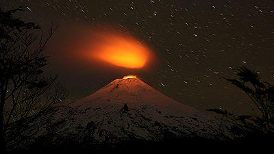 Villarrica yanardağı