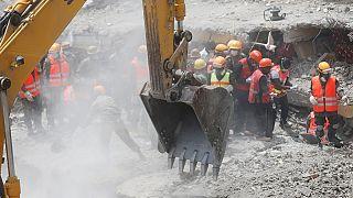 Le bilan de l' éffondrement d'un immeuble à Nairobi est passé à 26 morts