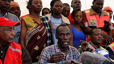 Kenya : l'émotion des rescapés de l'immeuble effondré à Nairobi