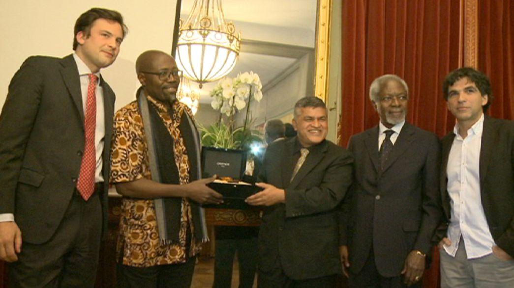Egy kenyai és egy maláj karikaturistát díjaztak Genfben