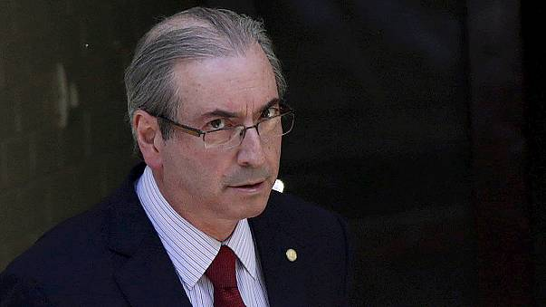 Rousseff's rival suspended in latest scandal to strike Brazil