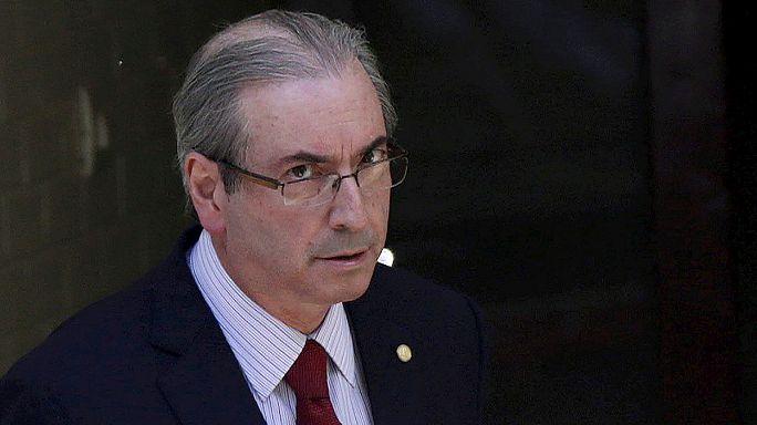 توقيف رئيس برلمان البرازيل بتهمة تعطيل تحقيقات خاصة بالفساد