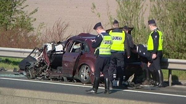 Policías belgas provocan un accidente mortal cerca Dunkerque