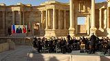 Grande concerto russo a Palmira, la città siriana liberata dall'Isil