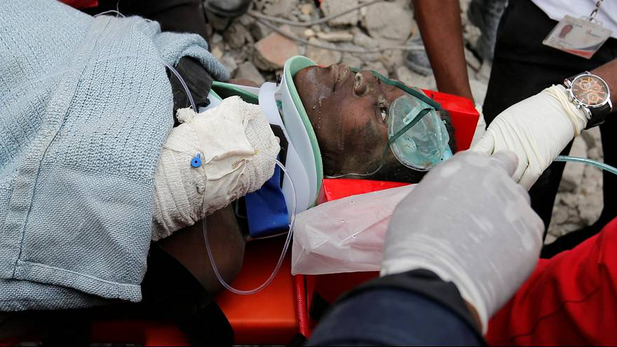 Six days on, survivors are found in collapsed Kenya building
