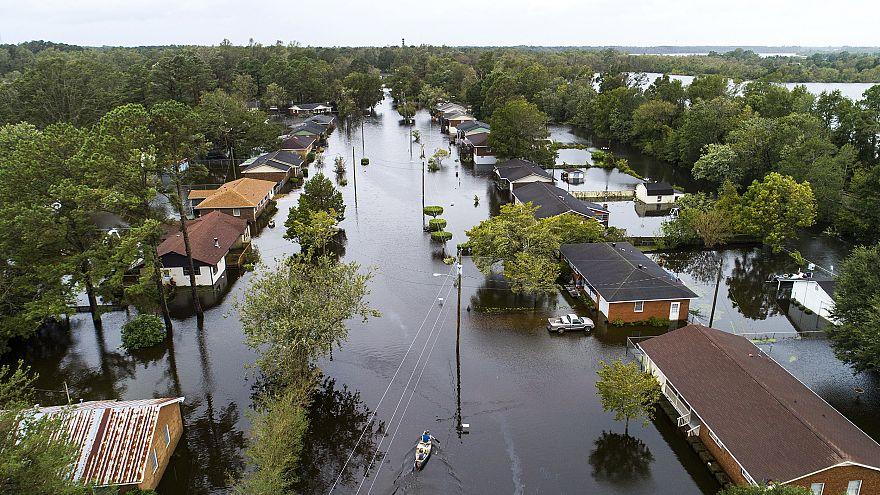 Image: Hurricane Florence Strikes East Coast of United States