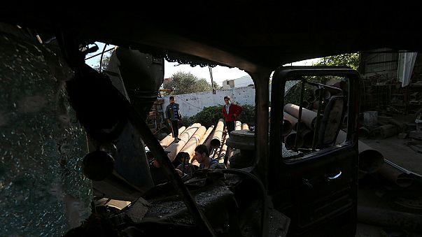 مقتل فلسطينية في قصف مدفعي اسرائيلي على غزة