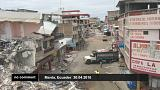 Euronews on Ecuador after the earthquake