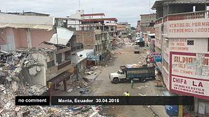 A Euronews no Equador depois do sismo
