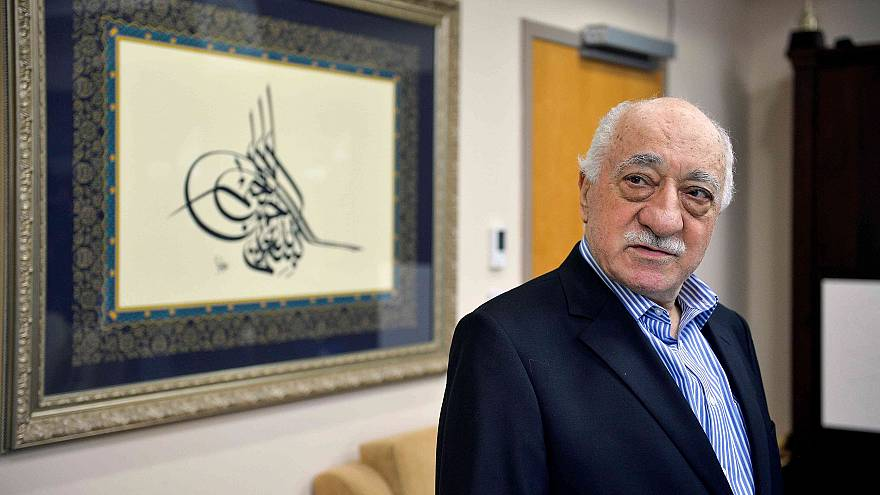 Image: Turkish cleric Fethullah Gulen is pictured in his home in Saylorsbur