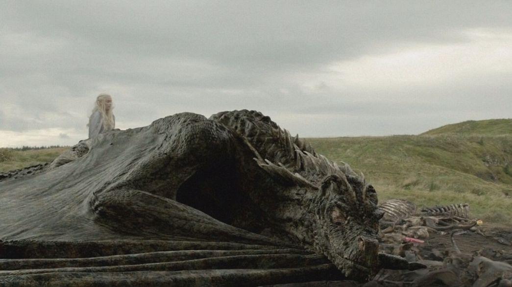 Kik keltik életre a Trónok harca sárkányait?