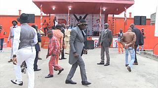 "Tribute to Papa Wemba: ""Sapeurs"" of Pointe-Noire mourn their king"