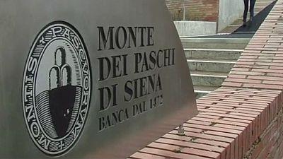 Monte dei Paschi - die älteste Bank sieht immer noch ein wenig alt aus