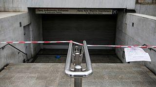 Megbénítja Görögországot az általános sztrájk