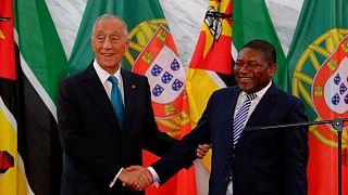 Presidente de Portugal apela à paz e ao investimento em Moçambique