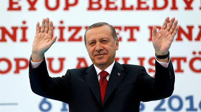 Erdogan nem enged a terrortörvényből