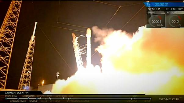 Second successful sea landing for SpaceX