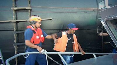 La guardia costera de EE.UU. rescata a un colombiano tras pasar dos meses a la deriva en el Pacífico