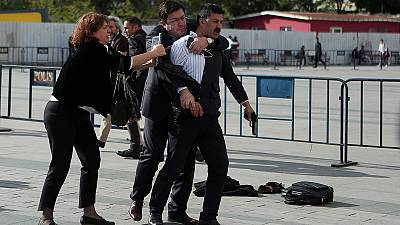 Turkey: journalist heading to state secrets trial shot at moments before verdict