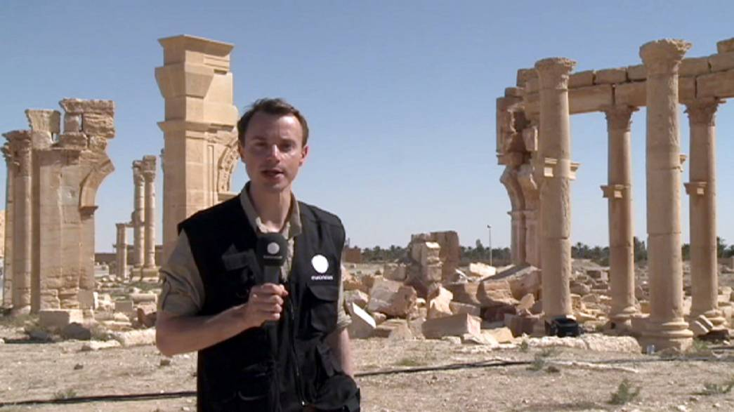 Siria: la reconstrucción de Palmira