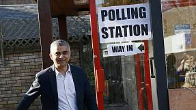 Sadiq Khan set to become London's first Muslim mayor