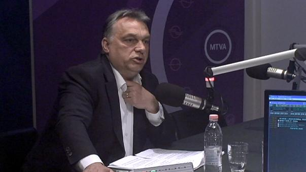 Orban AB Komisyonu'na ateş püskürdü