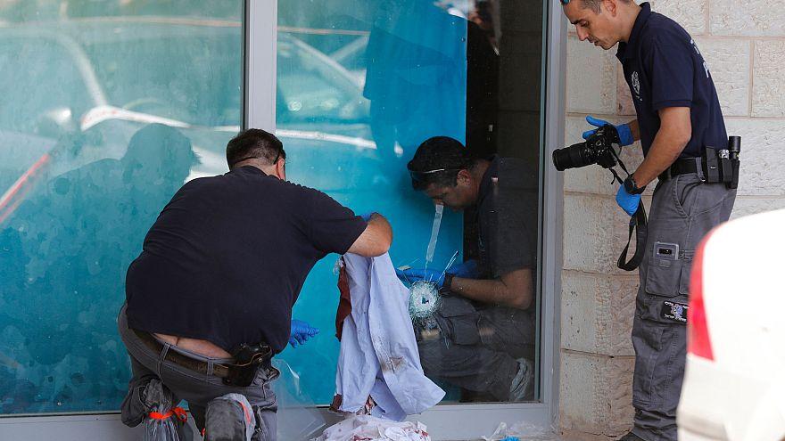 Image: West Bank stabbing