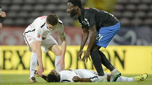 Cameroon footballer Patrick Ekeng dies after collapsing during match in Romania