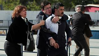 Gunman held after attack on Turkey journalist