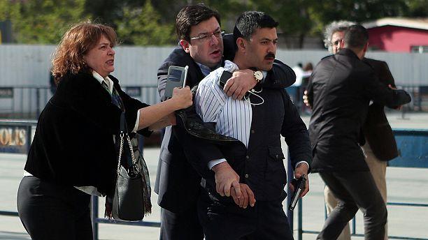 Gunman held after attack on Turkey journalist