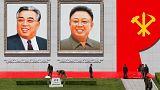 Líder norte-coreano Kim Jong Un no congresso do partido