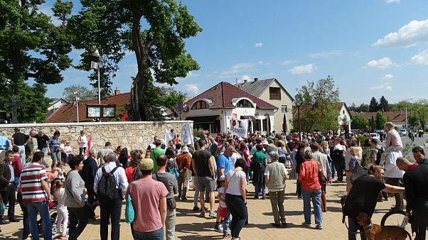 Tiltakoznak a plázaépítés ellen Nagykovácsiban