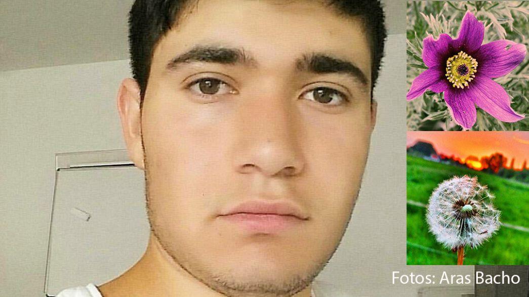 Aras Bacho (18): Flüchtling aus Syrien will die Welt mit Fotos verbessern