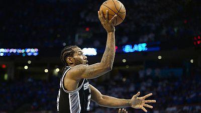 Dank Leonard und Aldridge: Spurs wieder in Führung
