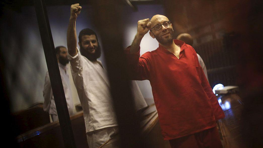 Condenados a muerte seis egipcios, tres de ellos periodistas