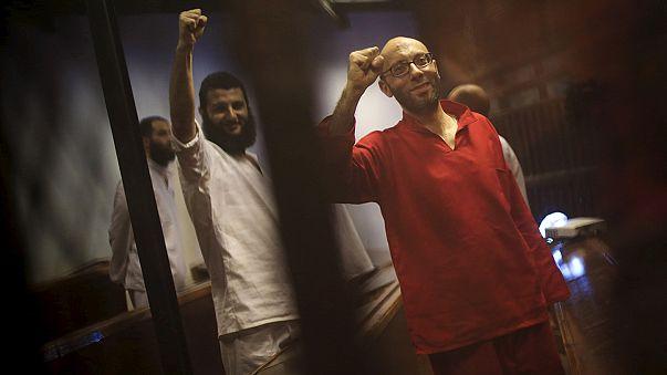 """مصر: إحالة أوراق ستة متهمين بينهم ثلاثة صحفيين إلى المفتي في قضية  """"التخابر مع قطر"""""""