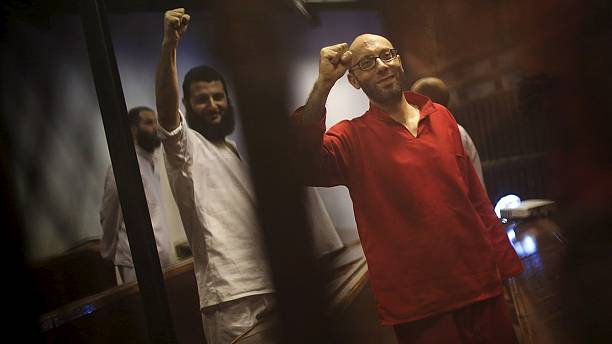 Journalists among six facing death penalty in Egypt for 'spying for Qatar'