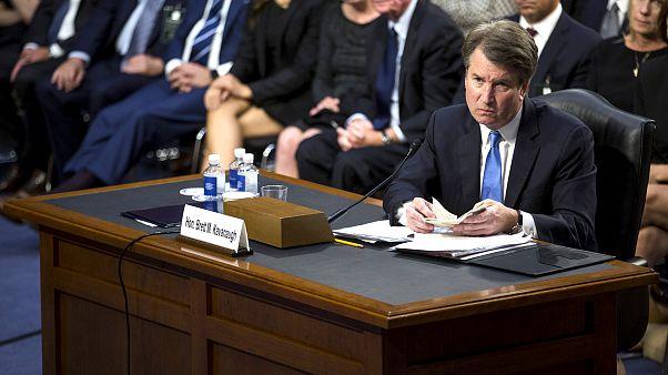Image: Senate Holds Confirmation Hearing For Brett Kavanugh To Be Supreme C