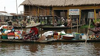 Ganvie: The floating market of Benin