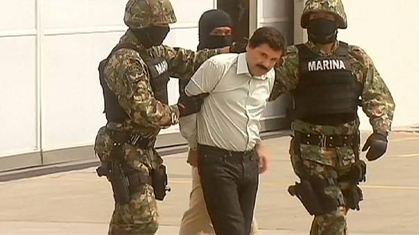 انتقال ال چاپو به زندانی در نزدیکی مرز مکزیک با آمریکا
