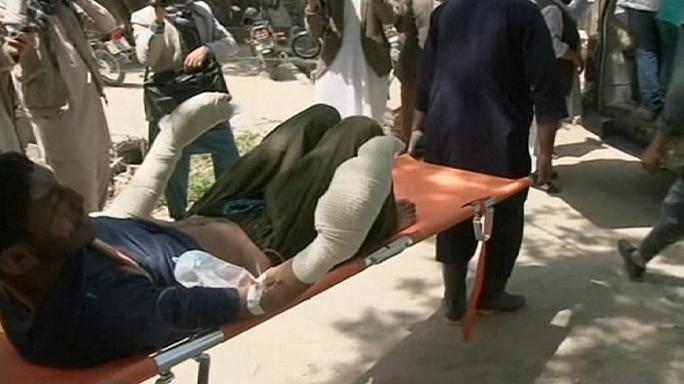 Scores killed as buses and fuel tanker collide in Afghanistan