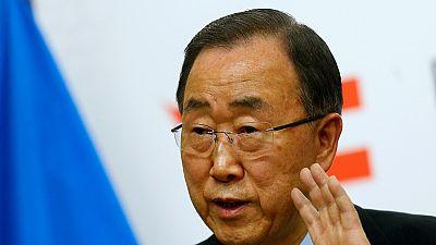 Ban Ki-moon en visite aux Seychelles