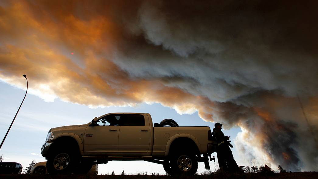 Canadá: As chamas não dão tréguas